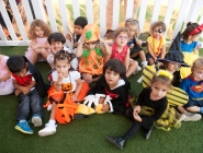 Starfish class taking a break after all their dancing!